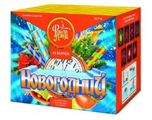 "Батарея салютов ""Новогодний"" 49 залпов 1.25"" калибр (ЕС710)"