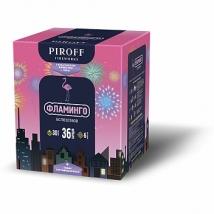 """Батарея салютов """"Фламинго"""" 36 залпов, 0.8"""" калибр БСП0103608 (PIROFF)"""