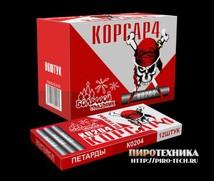 """Петарды """"Корсар-4"""" 12 шт ПТ204000 (Большой Праздник)"""
