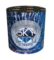 "Батарея салютов ""Sky city"" 10 залпов, 0,8"" калибр (GW218-95)"